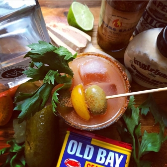 A Lone Bloody Mary